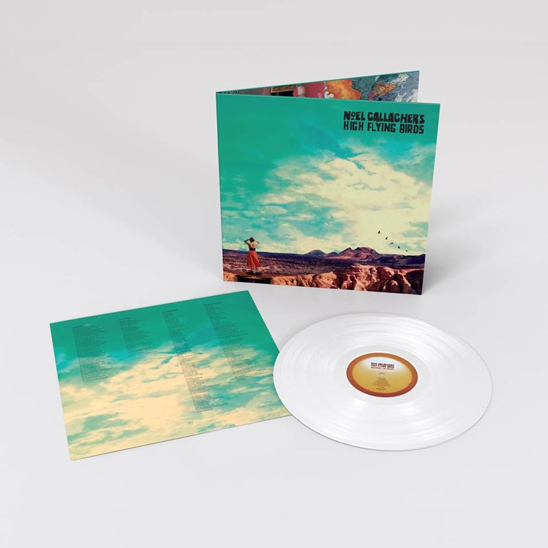 Who Built the Moon? (White Coloured Vinyl) + Holy Mountain