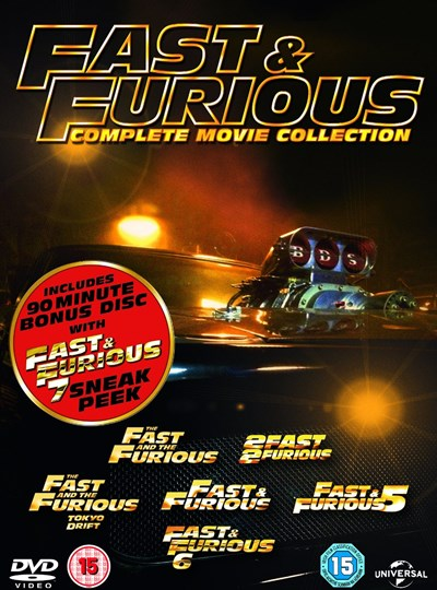 Fast & Furious: The 6 Movie Collection