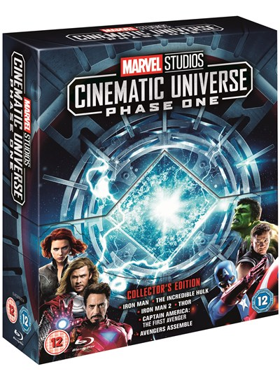 Marvel Studios Collector's Edition Box Set - Phase One