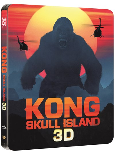 Kong - Skull Island (hmv Exclusive) Limited Edition Steelbook Includes 2D & 3D