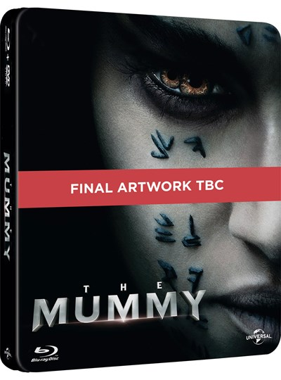 The Mummy (hmv Exclusive) Limited Edition Steelbook includes 2D & 3D