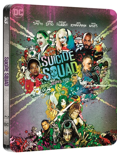 Suicide Squad (hmv Exclusive) Limited Edition Steelbook