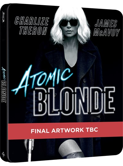 Atomic Blonde (hmv Exclusive) Limited Edition Steelbook
