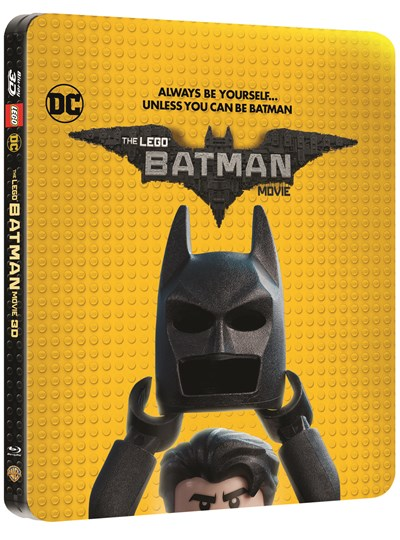 The LEGO Batman Movie (hmv Exclusive) Limited Edition Steelbook Includes 2D & 3D